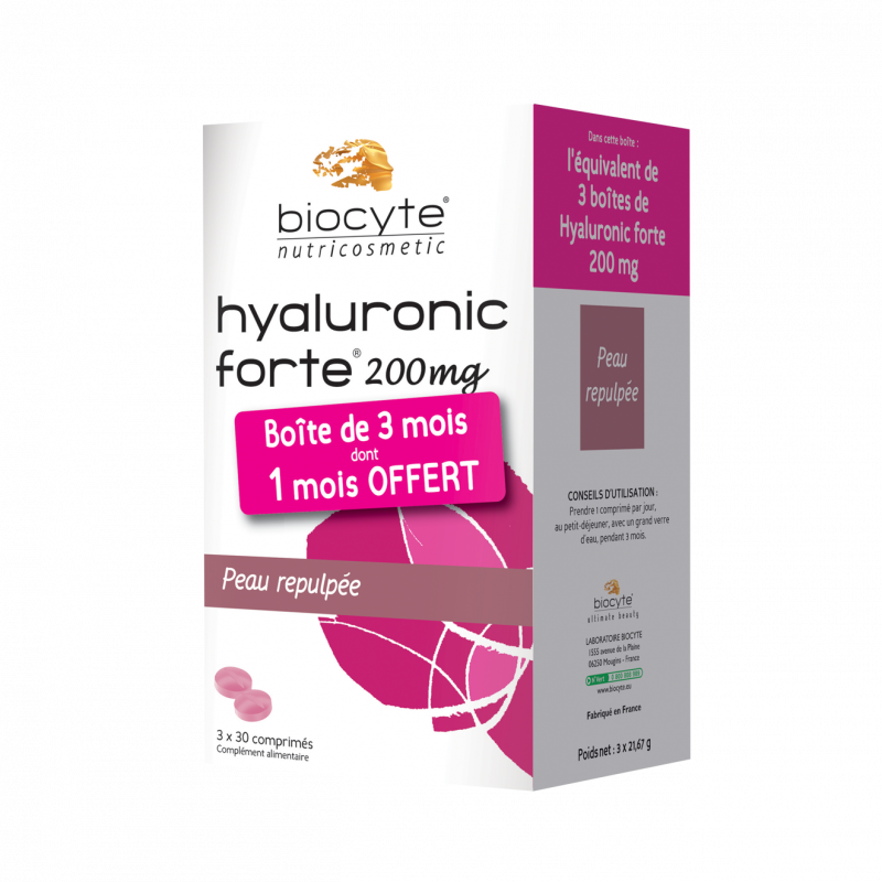 Pack hyaluronic forte ® 200 mg - comprimés