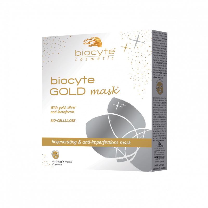 Biocyte GOLD mask ® boite de 4 - masques