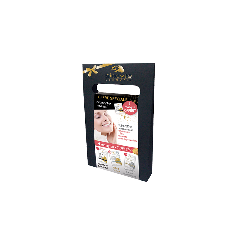 Coffret biocyte masks 4+1 offert®