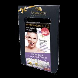 Biocyte - Coffret 3 masques + 1 Eye patch