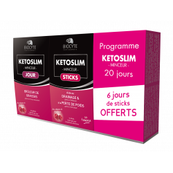 Biocyte - Pack Kétoslim minceur ® - gélules + sticks