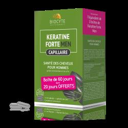 Biocyte - Pack Keratine men ® - gélules