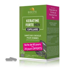 Biocyte - Pack Keratine men ® - gélules