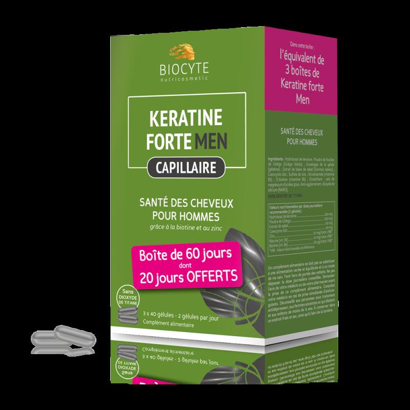Pack Keratine men ® - gélules