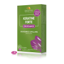 Supplements for hair growth with Keratine