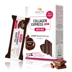 Biocyte - Collagen Express® bar – Chocolat Noir - x6