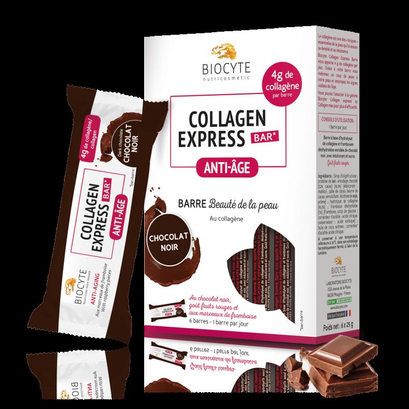Collagen Express® bar – Chocolat Noir - x6