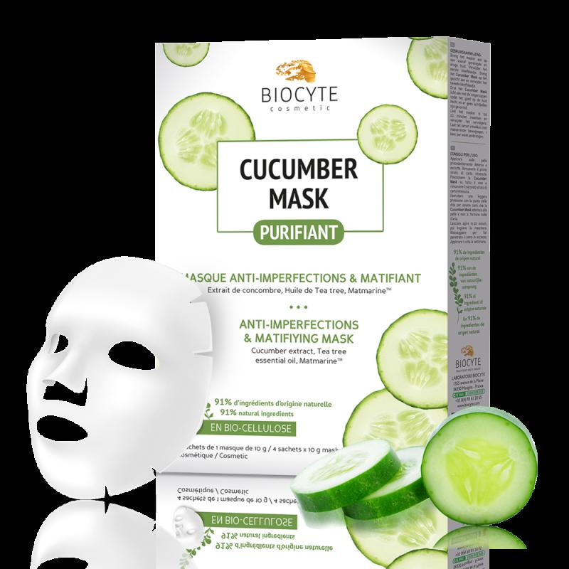 Cucumber Mask® Boîte de 4 Masques