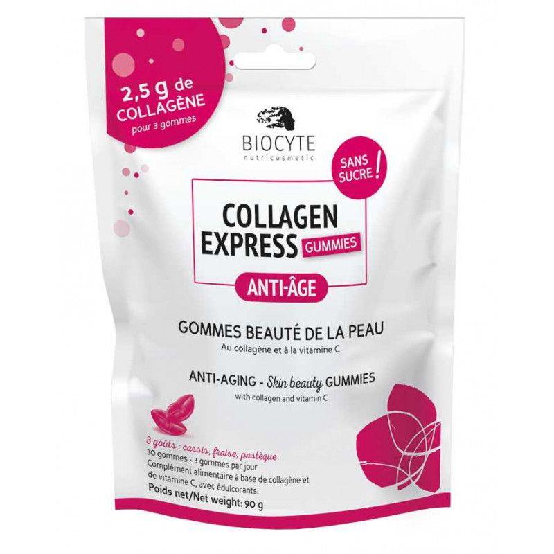 Collagen Express® Gummies - collagène peau