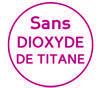 Sans dioxyde de titane